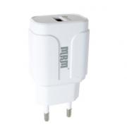 Сетевое зарядное устройство MRM S30 QC3.0 18W без упаковки (Белый)