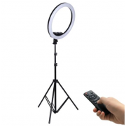 Светодиодная кольцевая лампа Jmary FM-536A 36 см (Черный)