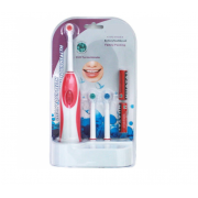 Электрическая зубная щетка YOUTU с насадками (Розовый)