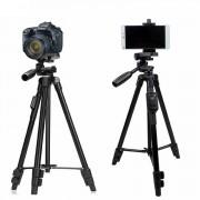 Профессиональный переносной штатив для камеры с сумкой Tripod 6218 (Черный)
