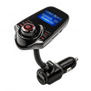 Автомобильный FM трансмиттер модулятор T10 (Черный)
