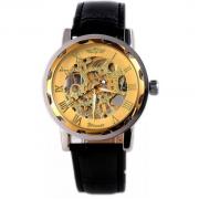 Наручные часы Winner Skeleton (Золотой)