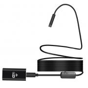 Беспроводной Wi-Fi USB эндоскоп-камера Endoscope 5м (Черный)