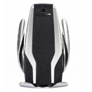 Автодержатель с функцией беспроводной зарядки Techno Smart Sensor S6 (Черный)