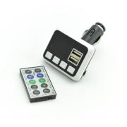 Автомобильный FM модулятор Allison A12 (Черный с белым)