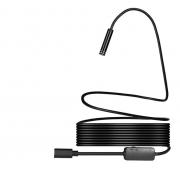 Гибкая видеокамера автомобильный USB Endoscope Android 2 мегапикселя 10м (Черный)