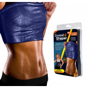 Майка для похудения Sweat Shaper Размер 2XL-3XL (Черная)