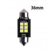Автомобильная светодиодная лампа FS C5W 2835 6SMD 36мм (Черный)