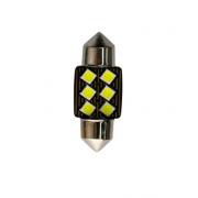 Автомобильная светодиодная лампа FS C5W 3030 6SMD 31мм (Черный)