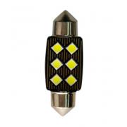 Автомобильная светодиодная лампа FS C5W 3030 6SMD 36мм (Черный)
