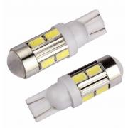 Автомобильная светодиодная лампа T10 W5W 5730 SMD 10 (Белый)