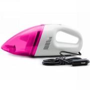 Портативный пылесос для автомобиля (Розовый)