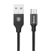Кабель Baseus 100см Micro Yiven Cable CAMYW-A01 (Черный)