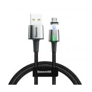 Кабель магнитный Baseus Zinc Magnetic Cable USB For Micro 2.4A 1m CAMXC-A01 (Черный)