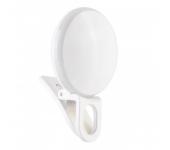 Лампа-клипса для селфи RK-17 (Белый)