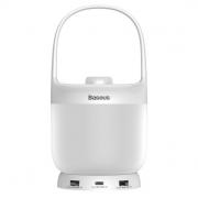 Ночник Baseus Moon-white Series Knob Stepless Dimming Portable Lamp DGYB-02 (Белый)