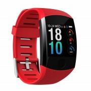 Фитнес браслет smart bracelet Q11 (Красный)