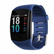 Фитнес браслет smart bracelet Q11 (Синий)