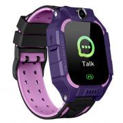 Водонепроницаемые детские смарт часы E12 с камерой (Фиолетовый)