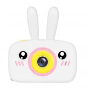Детская цифровая камера в форме зайчика (Белый)