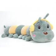 Длинная игрушка-подушка Гусеница 65 см (Зеленый)