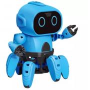Интерактивный робот-конструктор Small Six Robot (Синий)