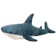 Мягкая игрушка-подушка Акула 60 см (Серая)