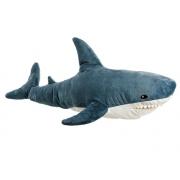 Мягкая игрушка-подушка Акула 85 см (Серый)