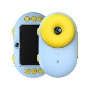Интерактивная детская водонепроницаемая Экшн-камера Doughnut 8.0 MP (Голубой)
