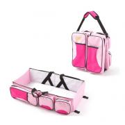 Детская сумка-кровать Baby Bed and Bag (Розовый)