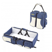 Детская сумка-кровать Baby Bed and Bag (Синий)