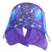 Тент-палатка на детскую кровать Снежная ночь (Фиолетовый)