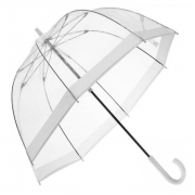 Зонт-трость прозрачный Arman Umbrella 6514 (Белый)