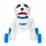 Интерактивная собака-робот с пультом ДУ Toby (Синий)