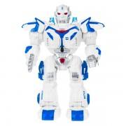 Робот ROCKET MAN с пультом ДУ (Белый с синим)