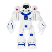 Робот со световыми и звуковыми эффектами ROCKET BOY (Белый с синим)