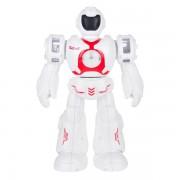 Робот со световыми и звуковыми эффектами YORK (Белый с красным)
