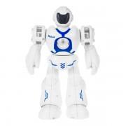Робот со световыми и звуковыми эффектами YORK (Белый с синим)