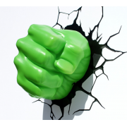Декоративный 3D-светильник Hulk Fist (Зеленый)