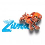 Декоративный 3D светильник Paw Patrol Zuma Mini (Оранжевый)