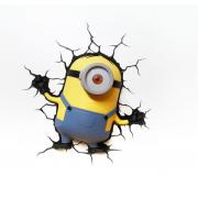 Декоративный 3D светильник Stuart (Желтый)