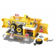 Набор пластмассовых деталей для сборки Игровая станция DIY Spatial Creativity (Желтый)