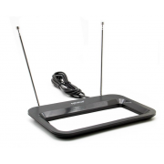 Телевизионная антенна DVB-T2 Eplutus ATN-04 с усилителем (Черный)
