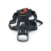 Фонарь налобный HL-2189-2-T6 холодный свет (Черный)