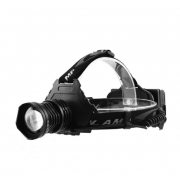 Налобный фонарь аккумуляторный FA-T70-P70 (Черный)