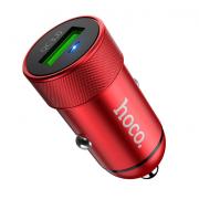 Автомобильное зарядное устройство Hoco Z32 Speed Up (Красный)