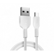 Кабель Hoco X20 Flash charged micro USB 1м (Белый)