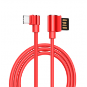 Кабель USB Hoco U37 Long roam charging data cable for Type-C 120cм (Красный)