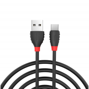 Кабель USB Hoco X27 Excellent Charge Data Cable for Type-C 120 см (Черный)