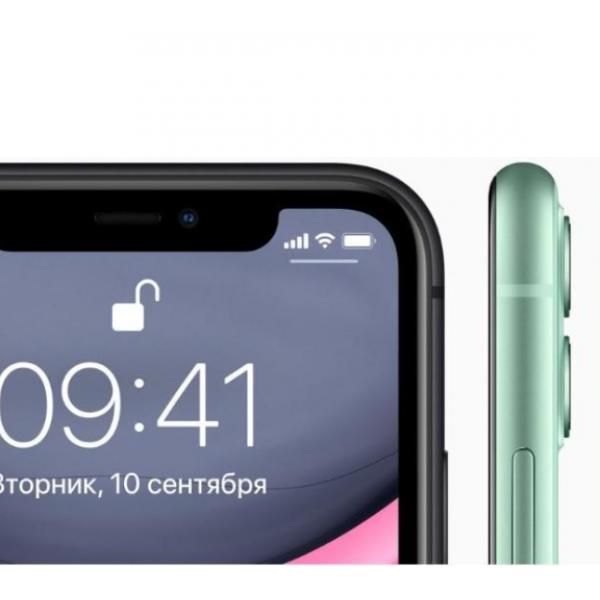 Чехол для Apple iPhone 11 (Черный)
